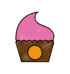 cupcake icon image vector image vector image