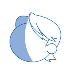 Head boy young avatar no face vector