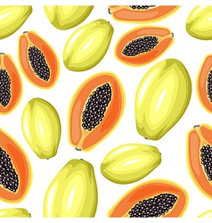 Papaya pattern vector