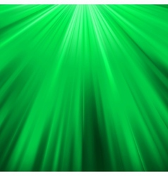 Green luminous rays eps 8 vector