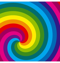 colorful swirl background vector image