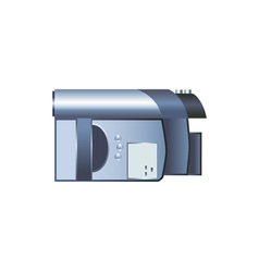 digital video camera vector image