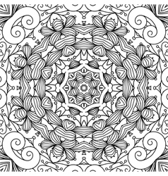 Beautiful background composed of geometric designs vector image vector image