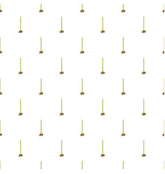 Brush for a floor pattern vector