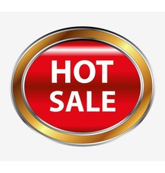 Hot sale button vector