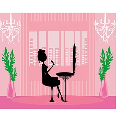 make up at home vector image vector image