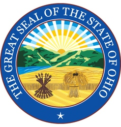 Ohio seal vector