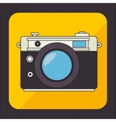Vintage technology media design vector image