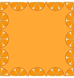 background oranges vector image