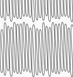 Gray scribble line vector