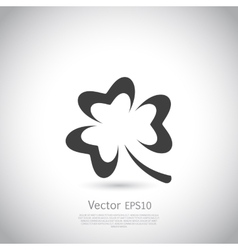 Trefoil symbol icon or logo template vector