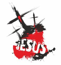 Christian print vector