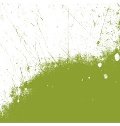 Green grass grunge vector