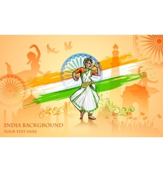 Culture of India vector image