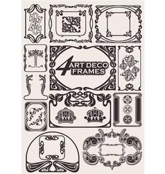 Ancient frames vector