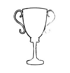 Trophy award sport winner element vector