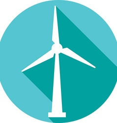 Wind Icon vector image