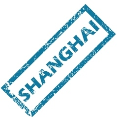 Shanghai rubber stamp vector
