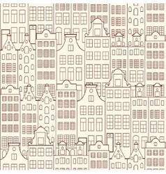 Old buildings vector