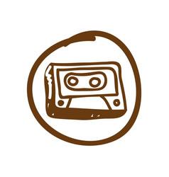 symbol radio technology icon vector image