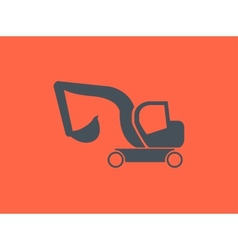 Transportation Flat Icon vector image