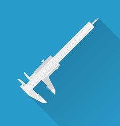 Vernier caliper tool vector