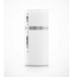 Isolated fridge vector image