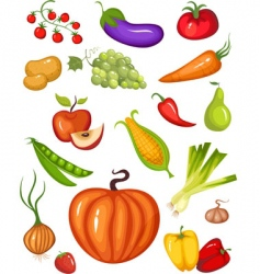 harvest vector image
