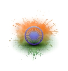 Background for happy indian independence day vector