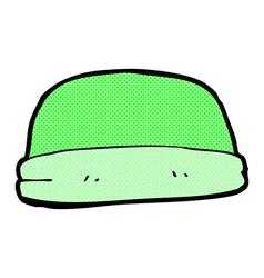 comic cartoon hat vector image vector image