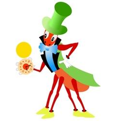 Fairy cricket vector