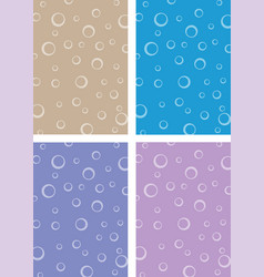 ring sponge backdrop vector image