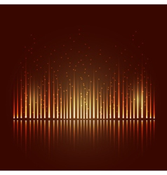 Abstract equalizer vector image