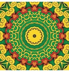 Beautiful full frame yellow geometric design vector