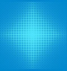 Blue symmetrical halftone ellipse grid pattern vector