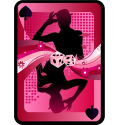 game card design vector image vector image