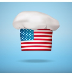 American national cuisine vector