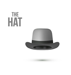 Top Hat isolated on white vector image