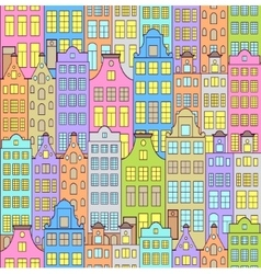 Colorful sity vector