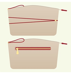 Cosmetic bag2 vector