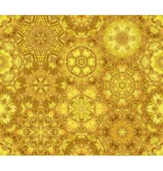 Seamless luminous gold pattern vector