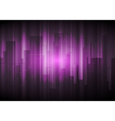 Purple modern background vector image
