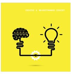 Creative brainstorm concept business vector