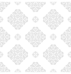 Seamless wallpaper in the style of baroque vector