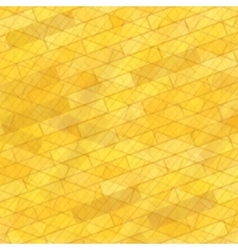 Brick wall yellow background vector