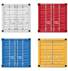Cargo container 01 vector