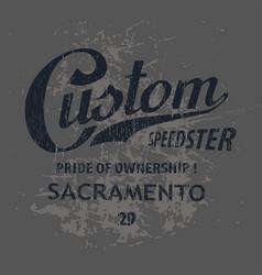 Custom sacramento vector