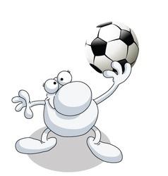 man football vector image