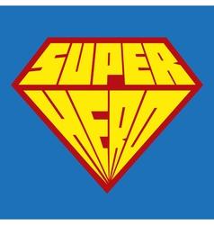 Superhero icon - Superhero logo vector image