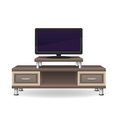 Tv table 02 vector